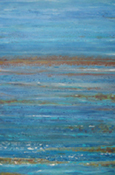 the second in the ocean quadtych this painting introduces the rusty colours of submerged reefs.