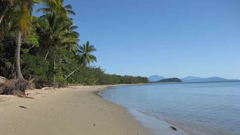 Southern end of Four Mile Beach Port Douglas, looking north