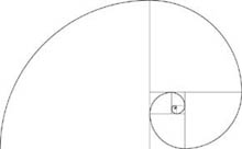 The Golden Spiral pencil diagramme