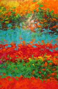 'The Red Lake', Linda Jackson