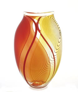 Ola Hoglund, 'Seed 1', blown glass vase