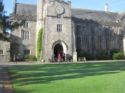 Jude at Dartington Hall, Devon, Uk