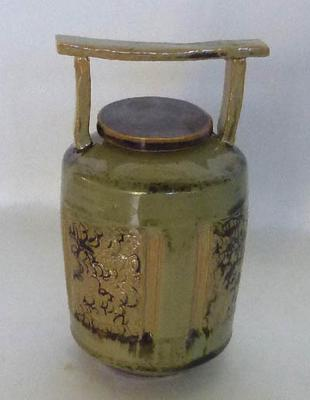 Lone White 'Pot With Handle'