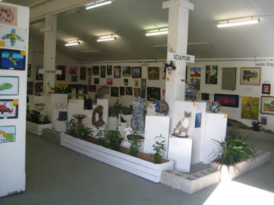Cairns Show art display