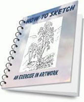 Cover of Kerry's Easy Sketches e-book