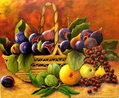 Painting by Gwen Beitzel