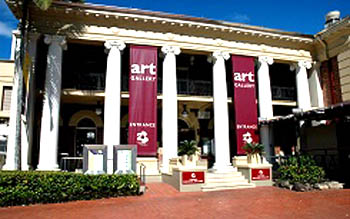 Entrance to Cairns Regional Gallery