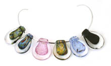 Marie Simberg-Hoglund necklet of glass 'stones'