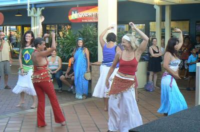 Learn belly dancing and samba.