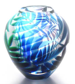 'Rainforest', Hoglund Art Glass