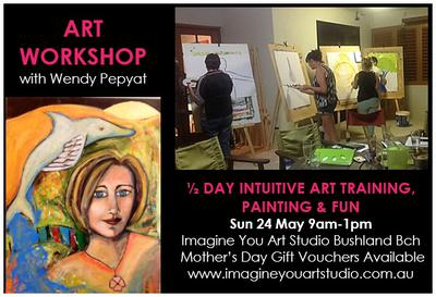 Intuitive Art Workshop 24 May 2015