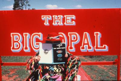 The Big Opal 1981, looking for opal photo Fran Moore