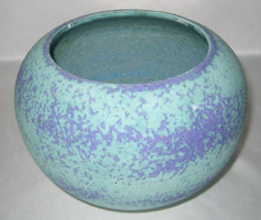 light blue round bowl