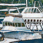 Mary Ann Runciman boat painting