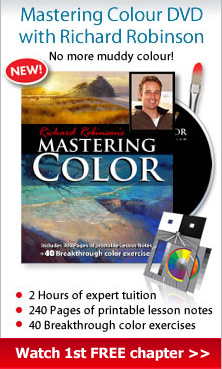 Image of 'Mastering Colour' DVD by Richard Robinson