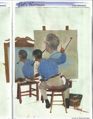 Norman Rockwell's Other Side