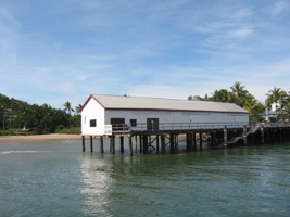 The old Sugar Wharf in Port Douglas