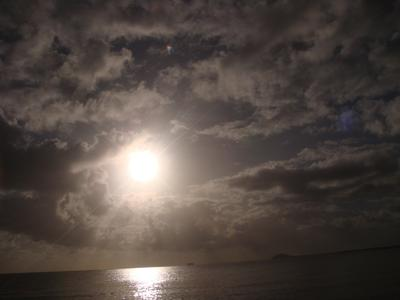 The ECLIPSE at Cooya Beach..front row viewing !!