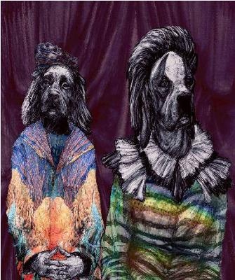 Margaret Genever, Clown Hounds, archival pigment print, 2010