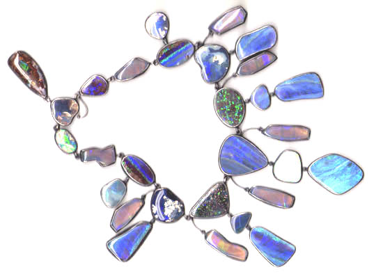 Opal Necklace, Linda Jackson