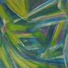the second in a quadtych, this painting is my abstracted jungle impression.