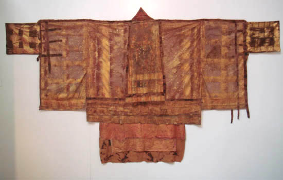 wattle bark and red mangrove dyed 'antique' kimona